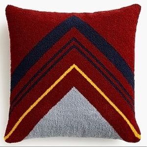 J.CREW Pillow from JCREW Home Collection RARE!